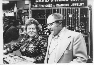 David and Rose Katz 1950s