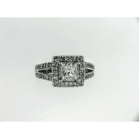 Square eternity band custom jewelry design
