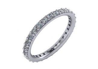 Custom Prong set Diamond Ring 5