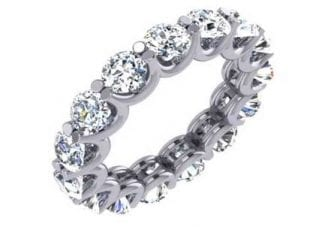 Custom Prong set Diamond Ring 2
