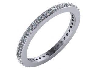 Custom Prong set Diamond Ring