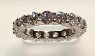 Solid Eternity Band