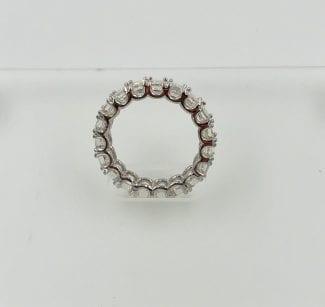 Side profile U prong ring