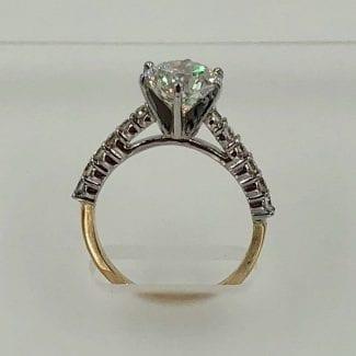 two tone diamond ring 2