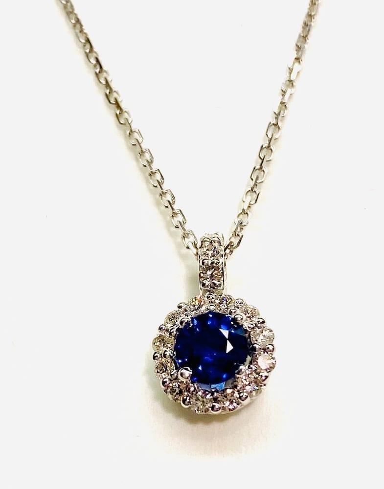 14K genuine Sapphire