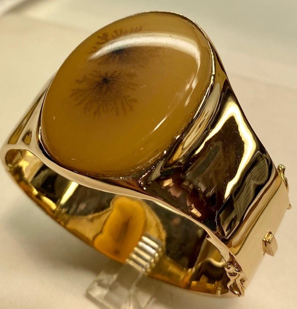14k Gold Bangle