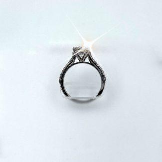 Profile lab grown diamond ring