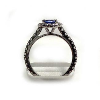 1.5 Carat Genuine Sapphire Ring 1