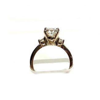 1.5 Carat lab grown diamond ring