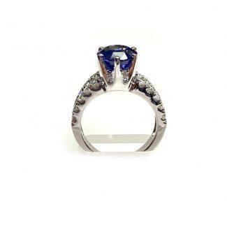 New ring 14k sapphire 2