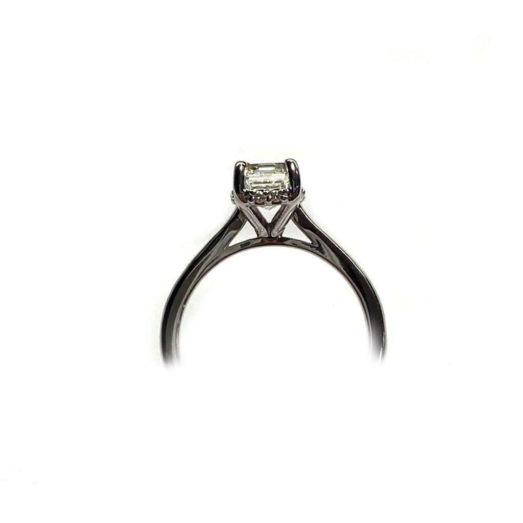 1.80 CT Emerald Cut Diamond Ring