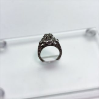 1.24 CT Engagement Ring Side