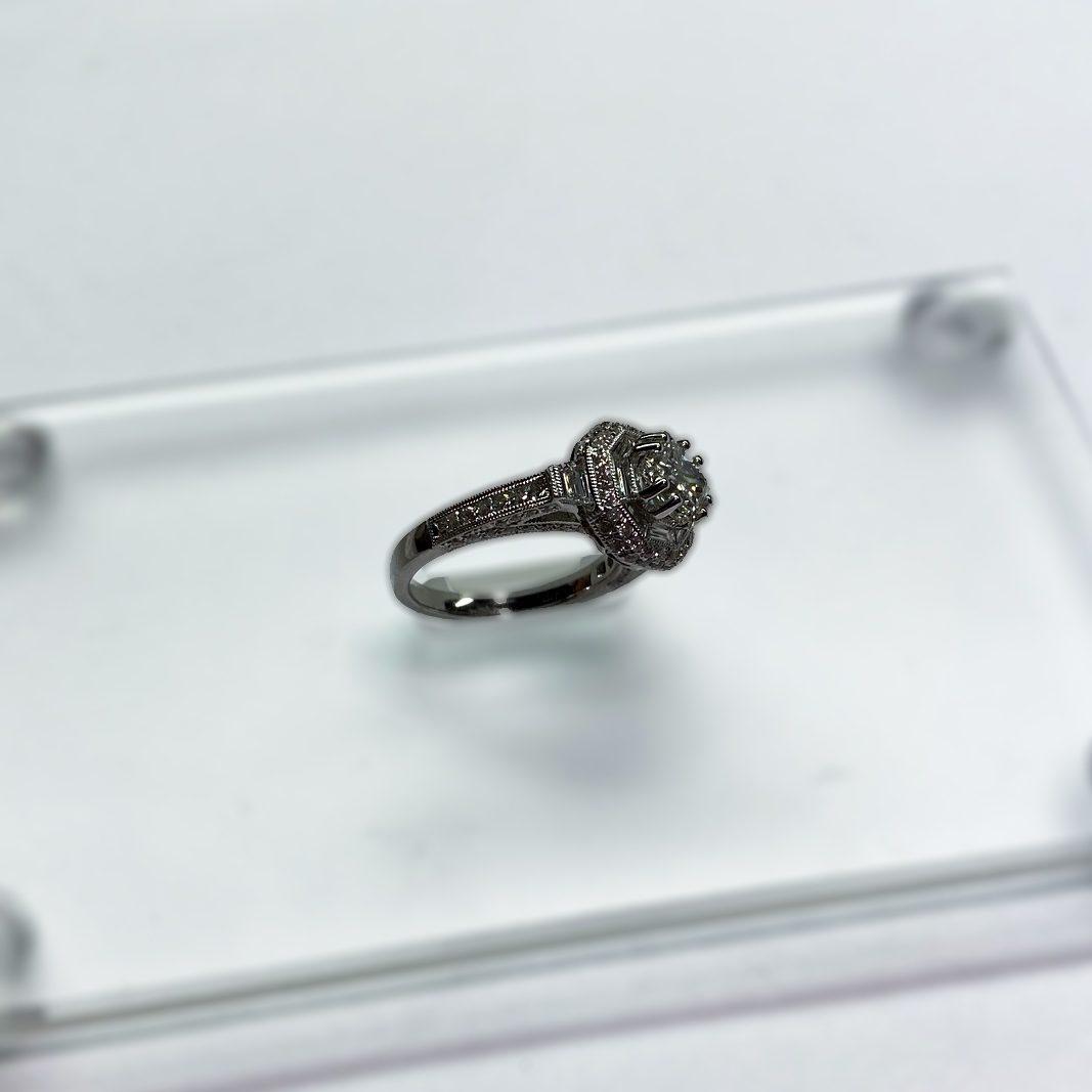 1.24 CT Engagement Ring Profile