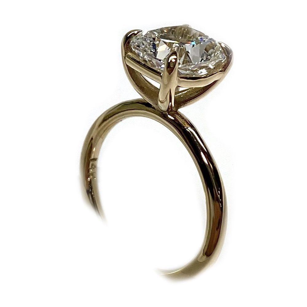 Cushion Diamond Ring